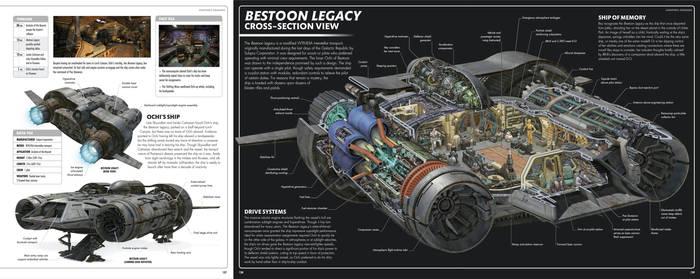 Star Wars Ochi's Ship Bestoon Legacy