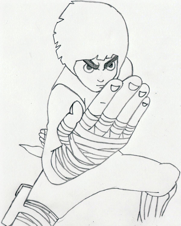 Naruto: Rock Lee by damasktear on DeviantArt