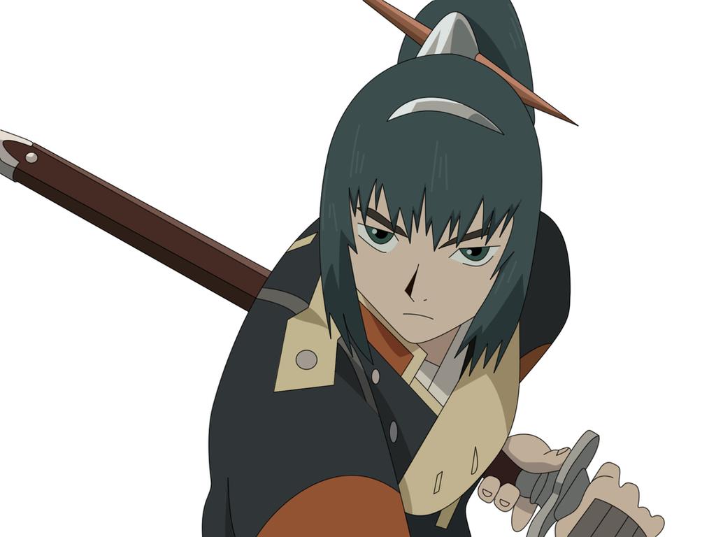 Samurai 7 Anime Characters : Samurai katsushiro by damasktear on deviantart