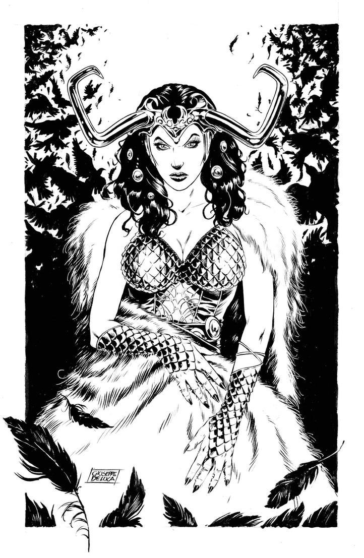 Lady Loki by giuseppedeluca