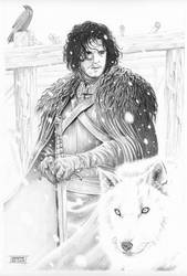 Jon Snow by giuseppedeluca