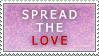 Spread the Love stamp by KiraMizuno