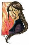 The Hunger Games  - Katniss by KiraMizuno