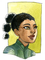 The Hunger Games  - Rue