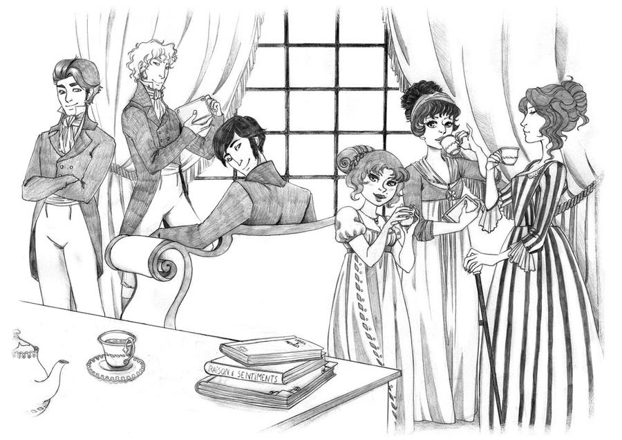 Afternoon Tea 3 - Regency by KiraMizuno
