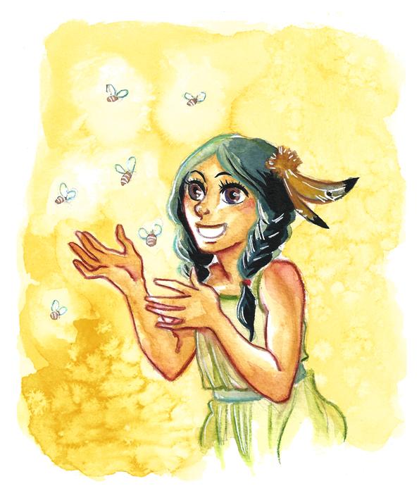 Special Watercolor Com - Chante-Avec-Les-Abeilles by KiraMizuno