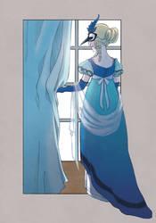Blue Jay by KiraMizuno