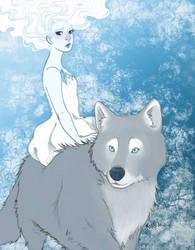 Winter Girl by KiraMizuno