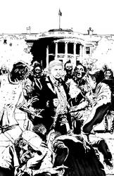 Trump Vs Zombies by nolocontendre