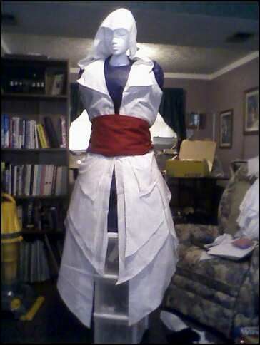 Ezio Costume WIP 02 by rabid-llama