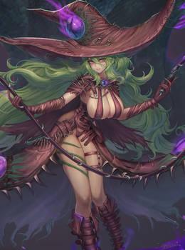 OC Thiania the witch 2