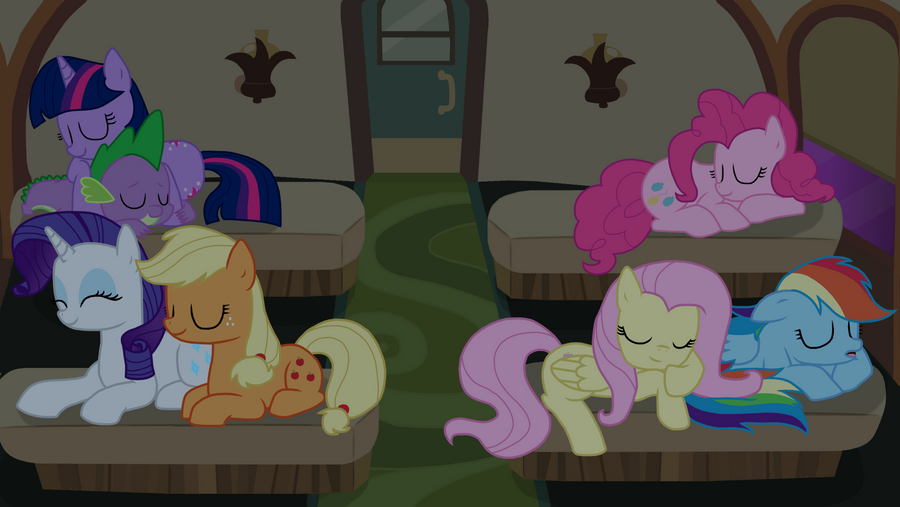 Main 7 sleeping by bristlestream