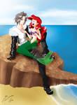 Ariel y Squall by Shinta-Girl