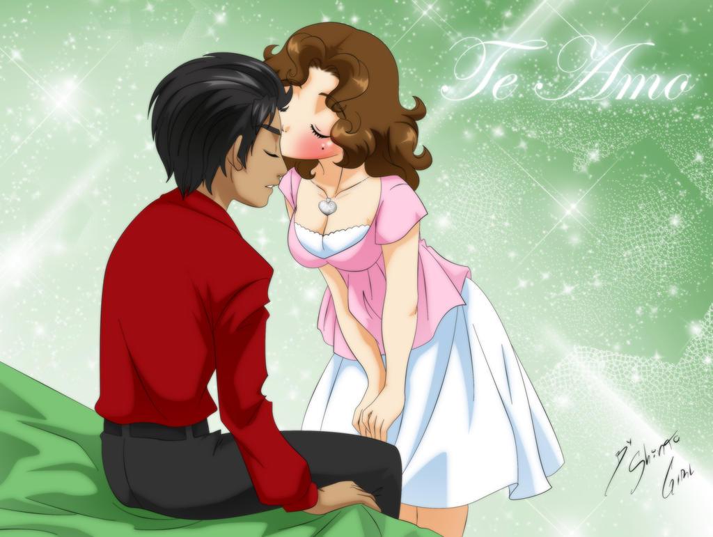 Beso de la buena suerte by Shinta-Girl