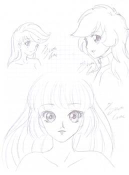 MLP Human- bocetos