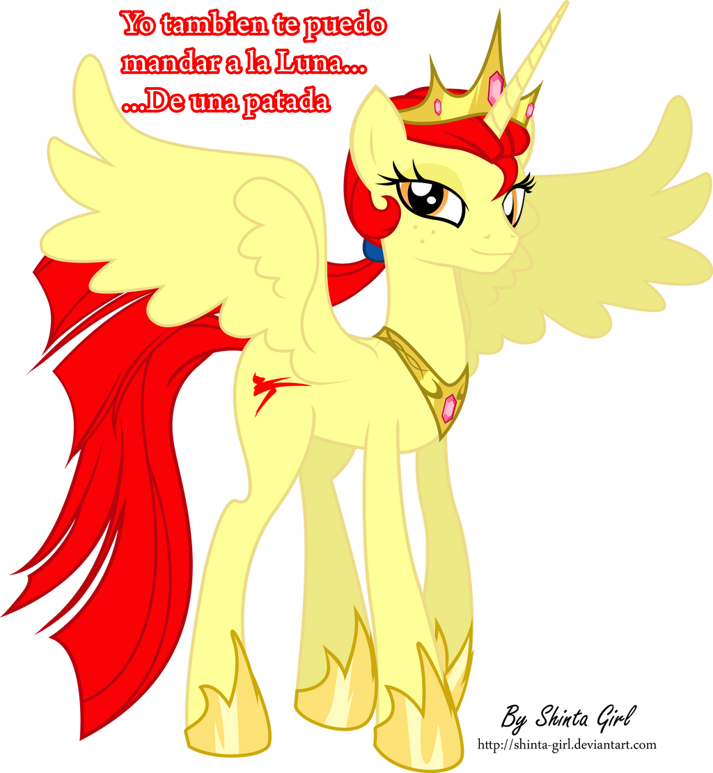 Taek - Princess Alicorn by Shinta-Girl