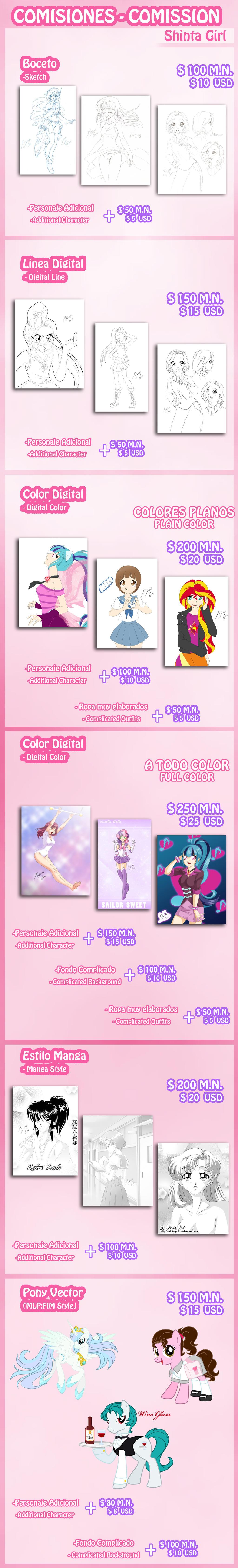 Comissiones anuncio  by Shinta-Girl