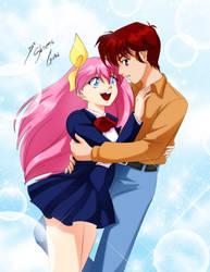 Comission - Shawn + Momoko