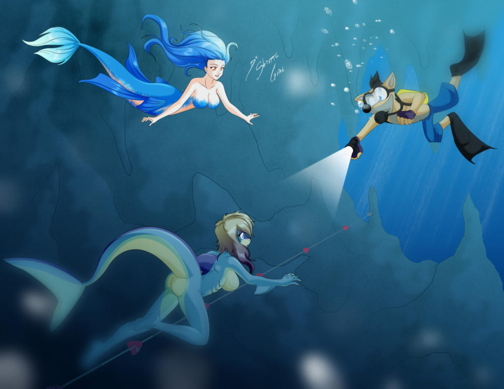 Comission - Under the Sea by Shinta-Girl