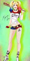 Comission - Harley Quinn