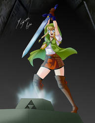 Comission - Linkle by Shinta-Girl
