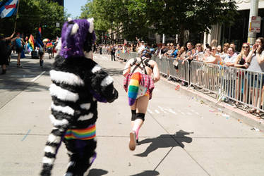 Drako at Pride 2019