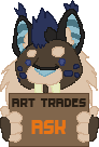 art trades - DA by BearlyPunk