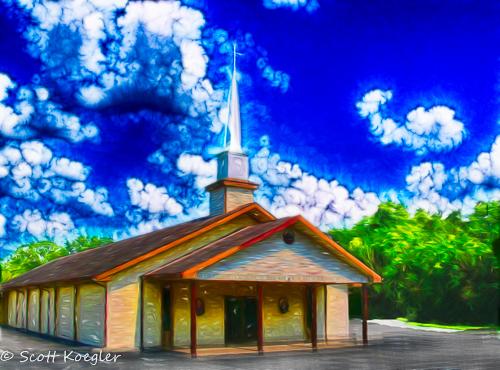 Wilsonville Baptist Newport TN by Photominimalist