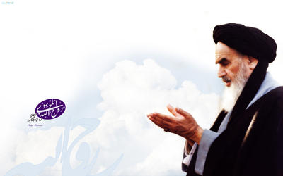 Imam Khomeini R.A praryer in the heaven