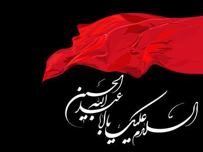 Imam Hussein pbuh ed flag