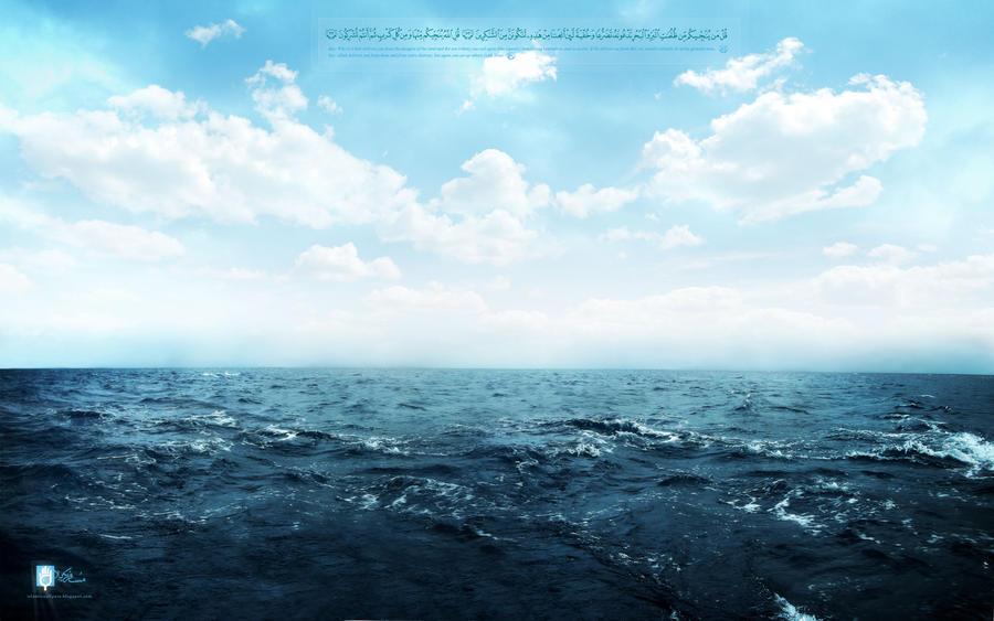 Al Bahr -- the ocean by islamicwallpers