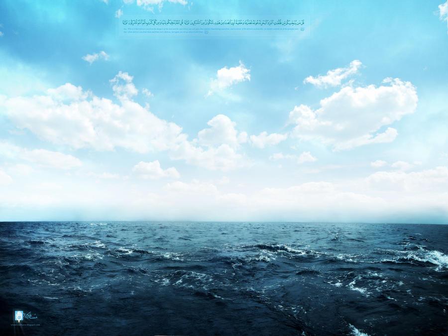 Al Bahr --- the ocean by islamicwallpers