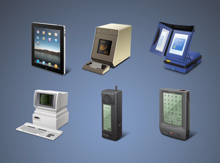 Touchscreen Icons by Guifx