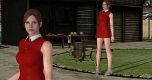 Claire Rouge dress
