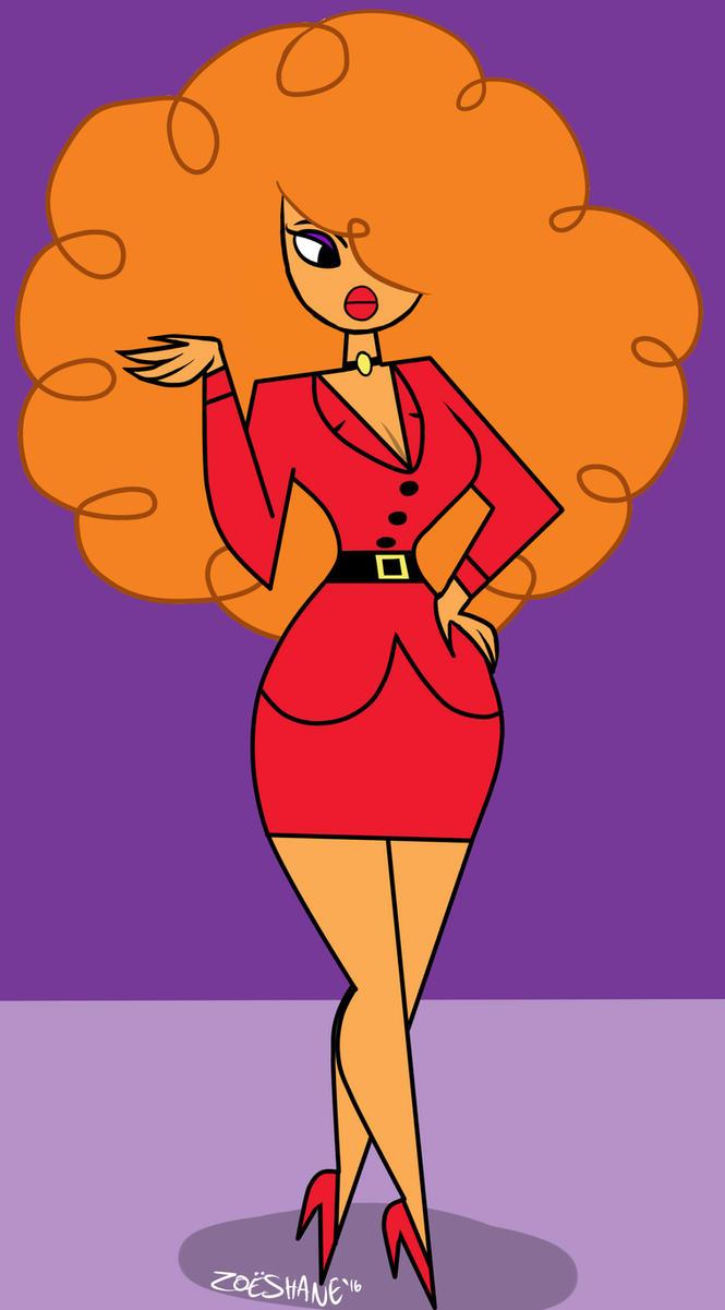 Powerpuff girls ms bellum face