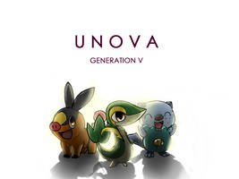 Unova Gen 5 by Arcamira