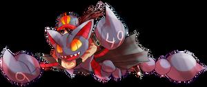 Pokemon Sky race - Gliscor (49) by Arcamira
