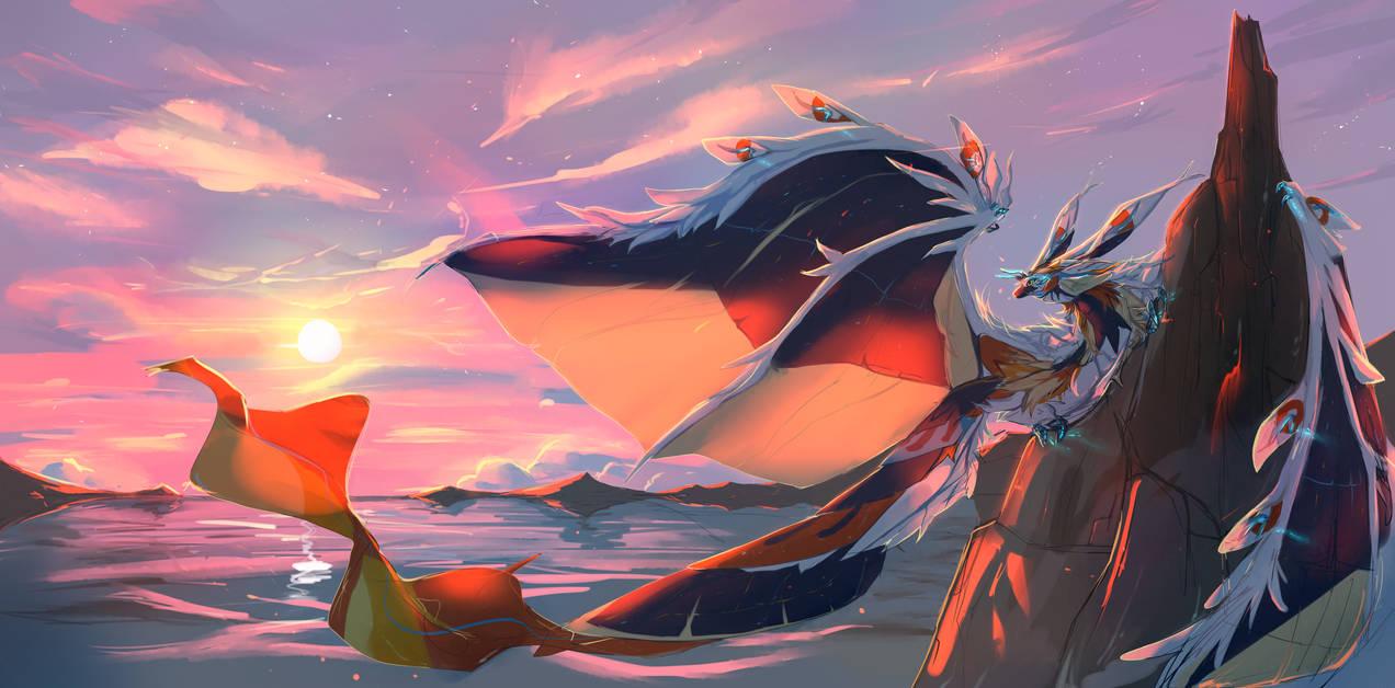 Solar Dragon by Arcamira