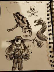 Ink/Drawtober 2018 - 01