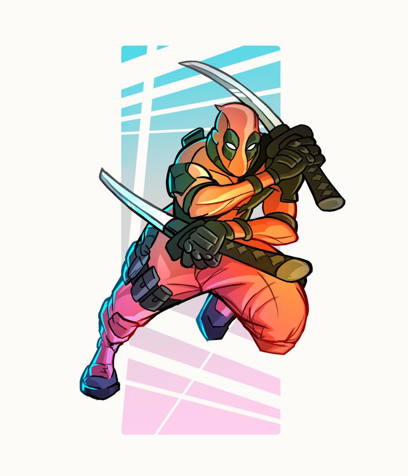 deadpool by ninjakimm