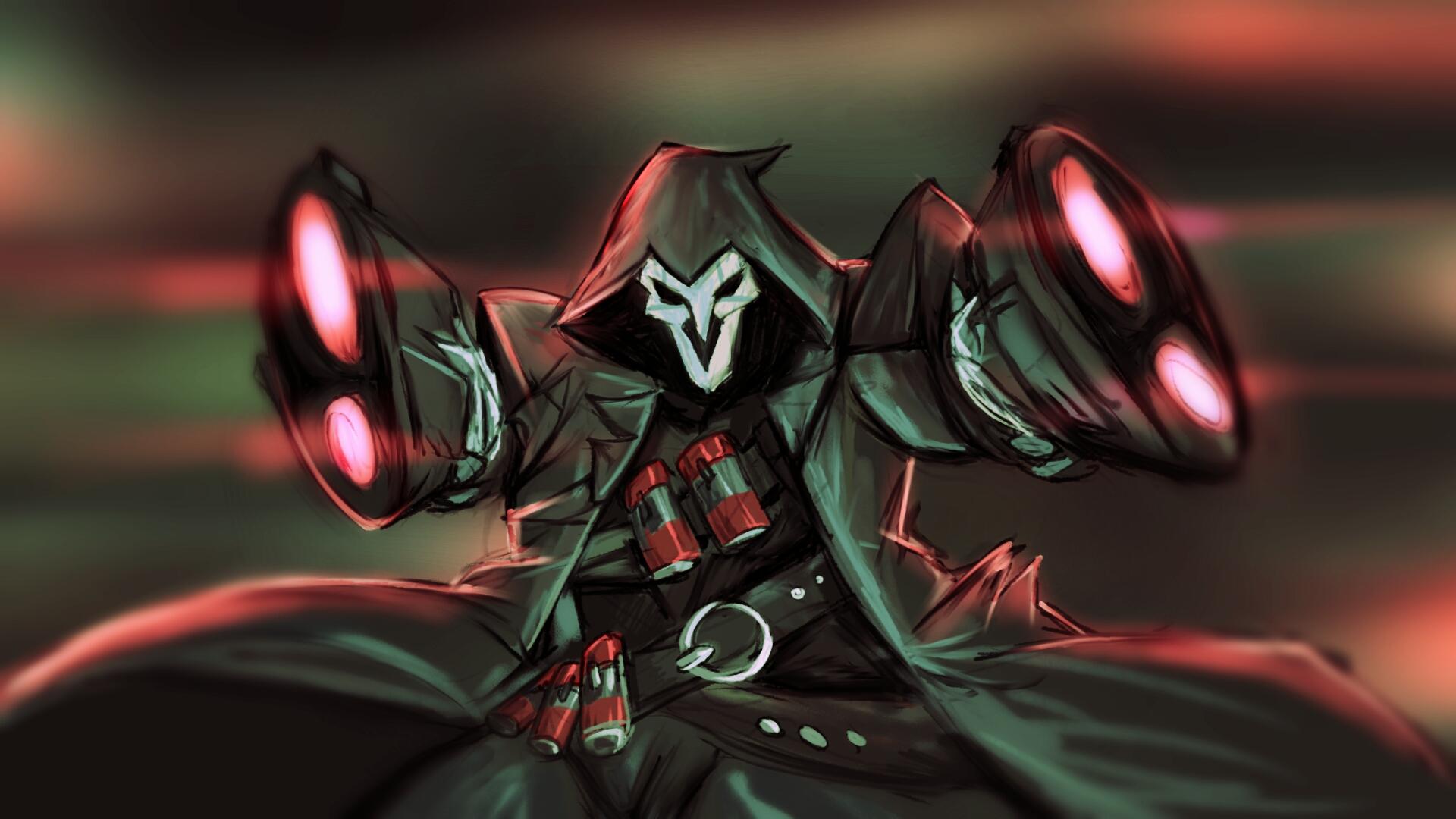 Reaper (overwatch fanart) by ninjakimm