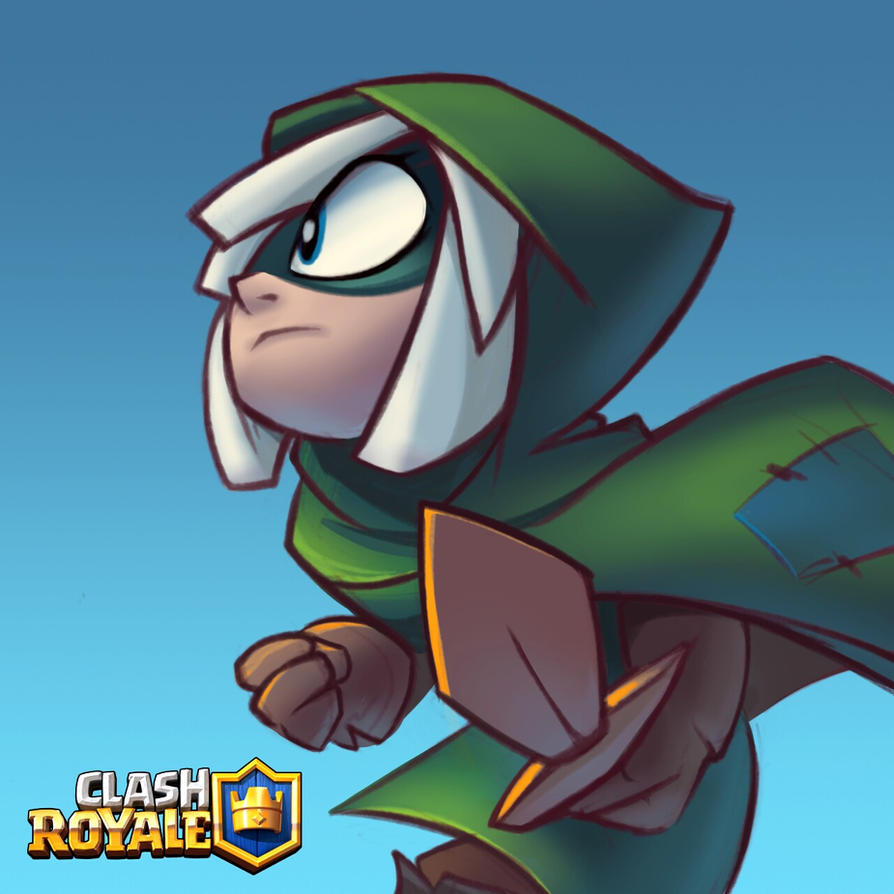 bandit of clash royale by ninjakimm