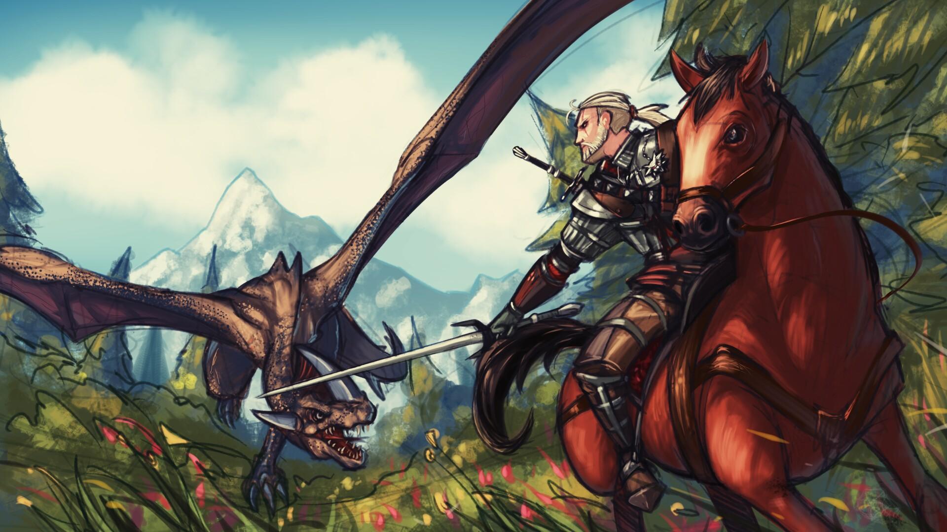 Witcher 3 Fanart By Ninjakimm On DeviantArt