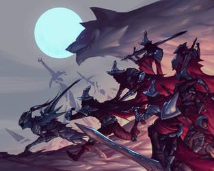 The Abyss Watchers (Dark souls 3 fanart)