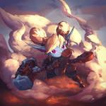 Poppy (league of legends fanart)