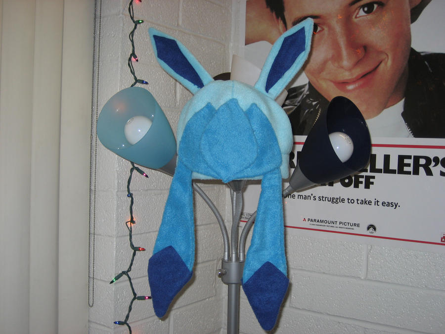 glaceon fleece hat by - photo #10