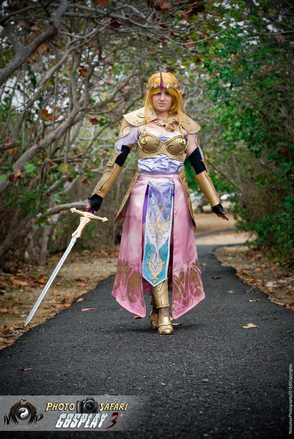 Cosplay Princess Zelda Hyrule Warriors By Rafypr007 On