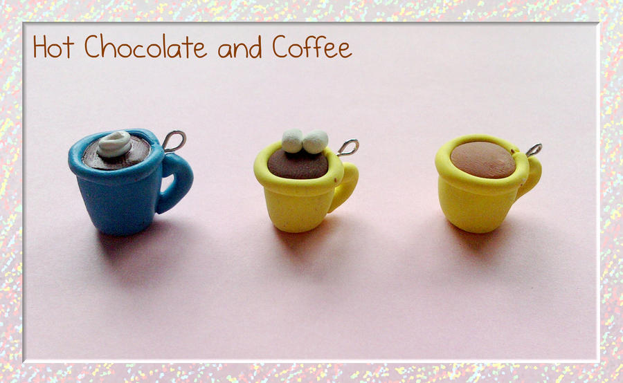Hot Chocolate and Coffee by kittykatklub1