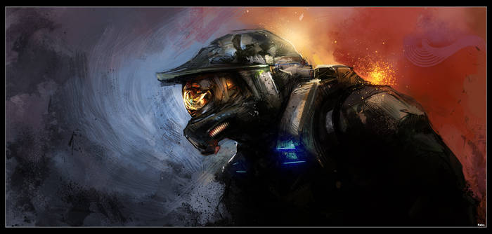 Craig Mullins Study - Halo