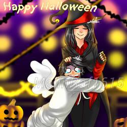 MCSM: Halloween with Radar and Jesse by MalinRaf1615